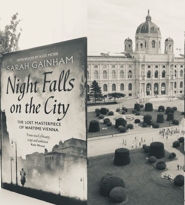 Books set in/about Vienna - Night falls on the city, Sarah Gainam