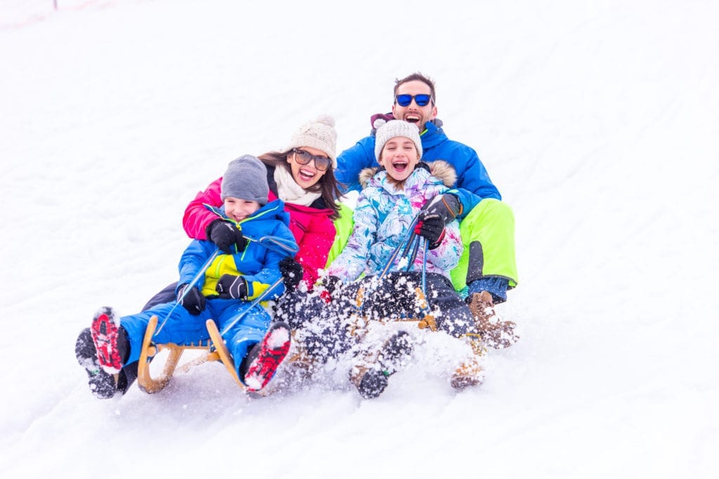Kranjska Gora is an ideal location for a family winter holiday in the Slovenian mountains