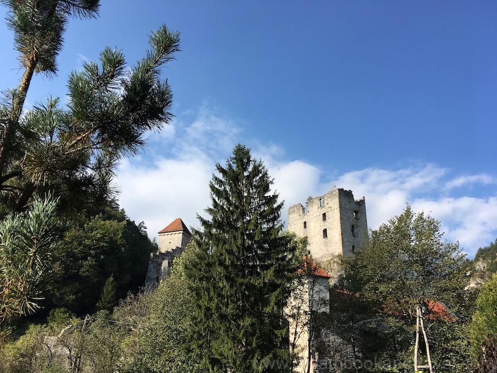 Kamen castle in the Slovenian mountains