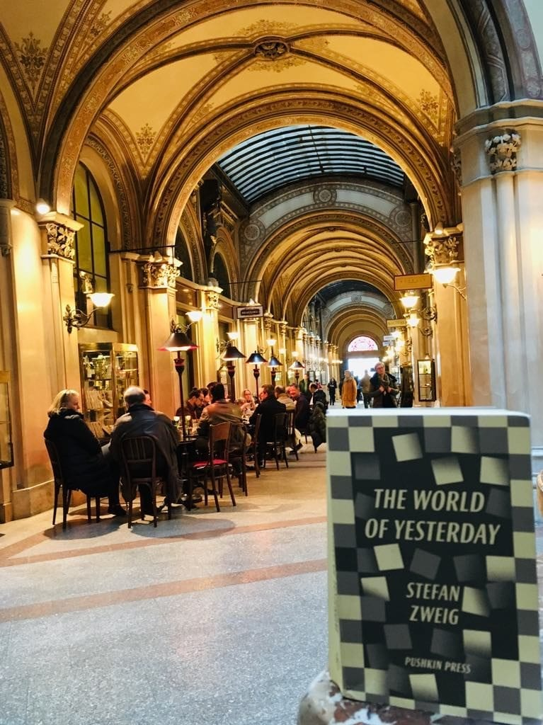 Books set in/about Vienna - The World of Yesterday
