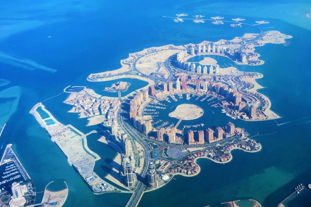 Qatar itinerary - the Pearl