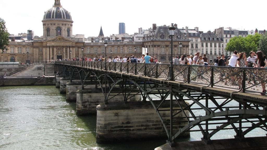 Three days in Paris itinerary - Pont des Arts