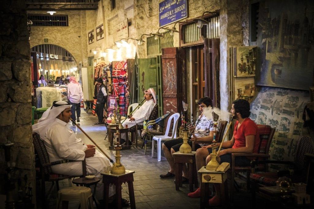 Qatar itinerary day 1 - Souq Wakif