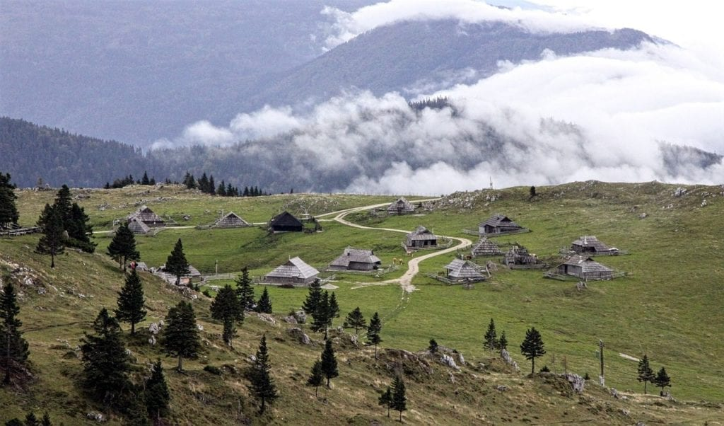 Velika Planina, Slovenian mountains