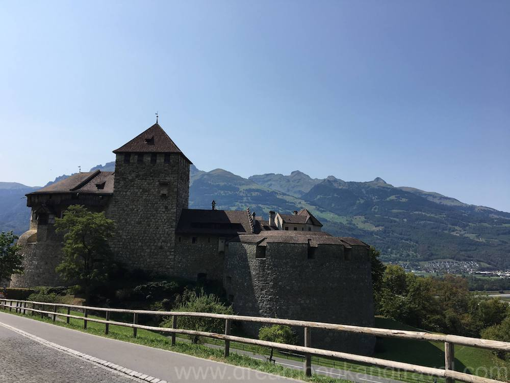 Vaduz castle - Liechtenstein is a delightful stop on any Germany and Austria itinerary
