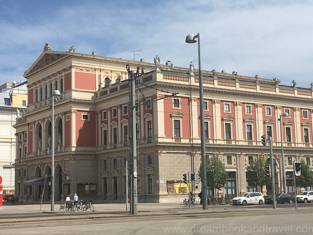 Vienna Musikverein - location of the New Year's Concert and home to the Vienna Philharmonic Orchestra.