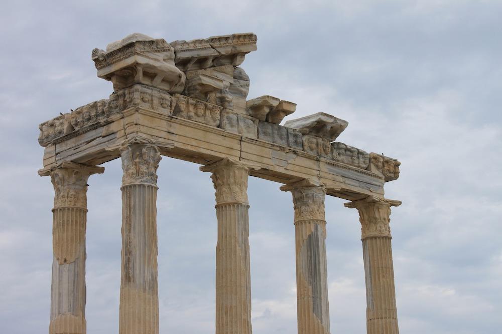Templul lui Apollo, Side