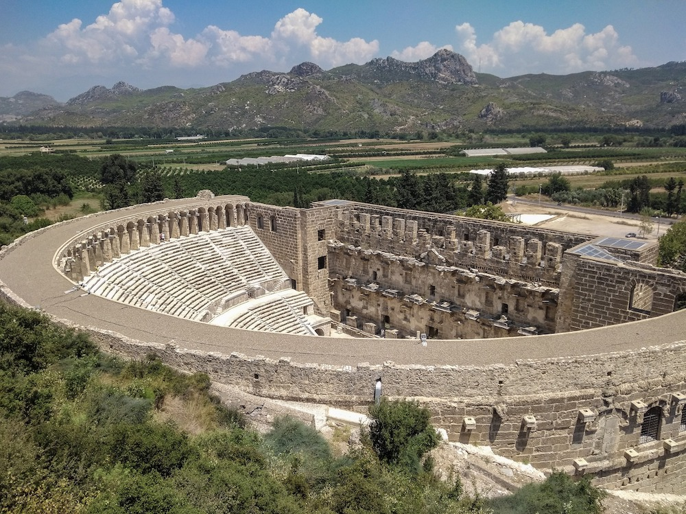 Antalya excursions - the ancient theater Aspendos