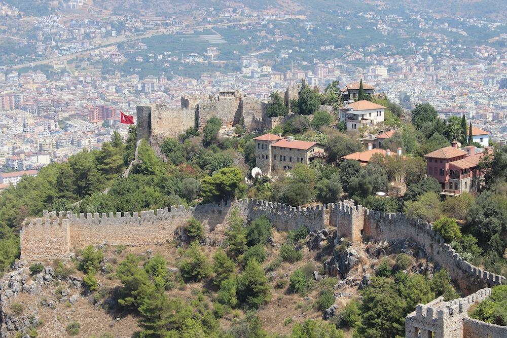 Castelul Alanya, capodoperă a artei defensive otomane