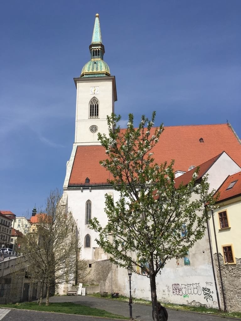 St Martin Cathedral should not be missed during a weekend in Bratislava.