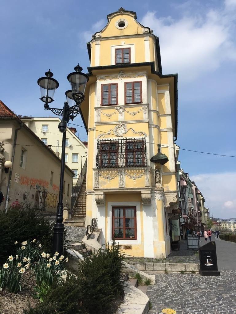 Bratislava - house at the good shepherd