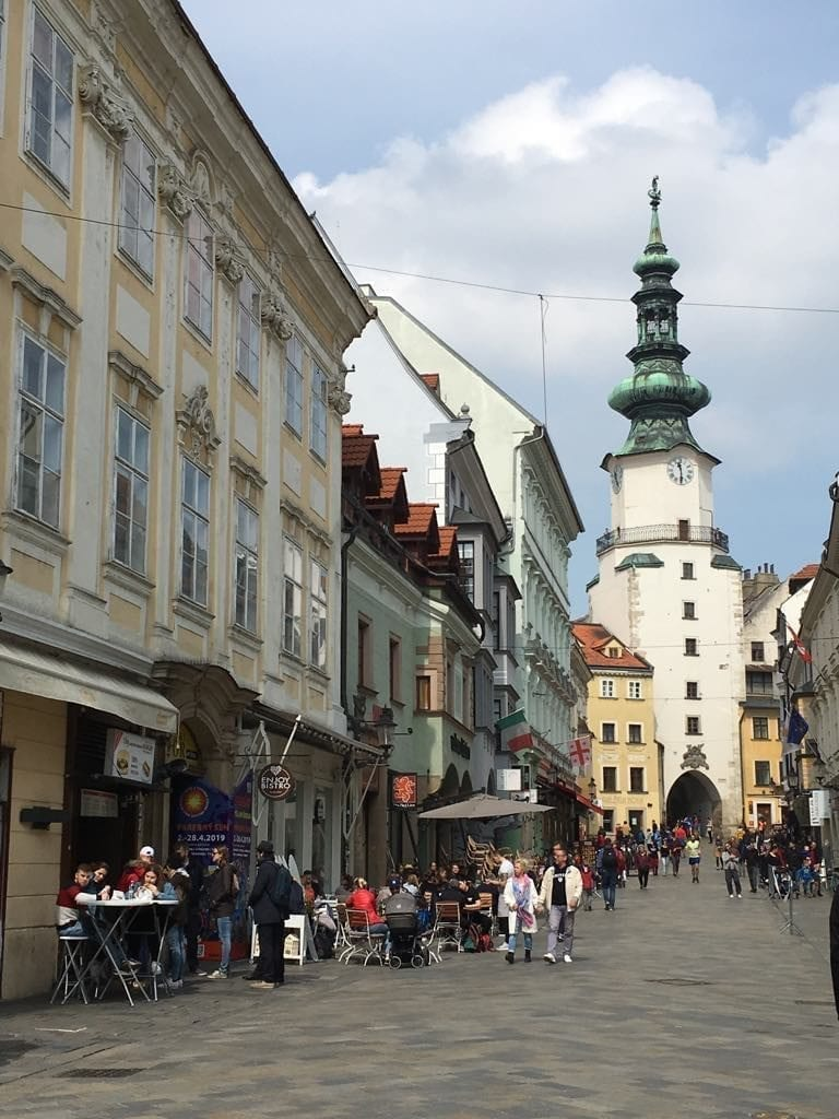 Michael's Gate in Bratislava, Slovakia should not be missed during your weekend in Bratislava.