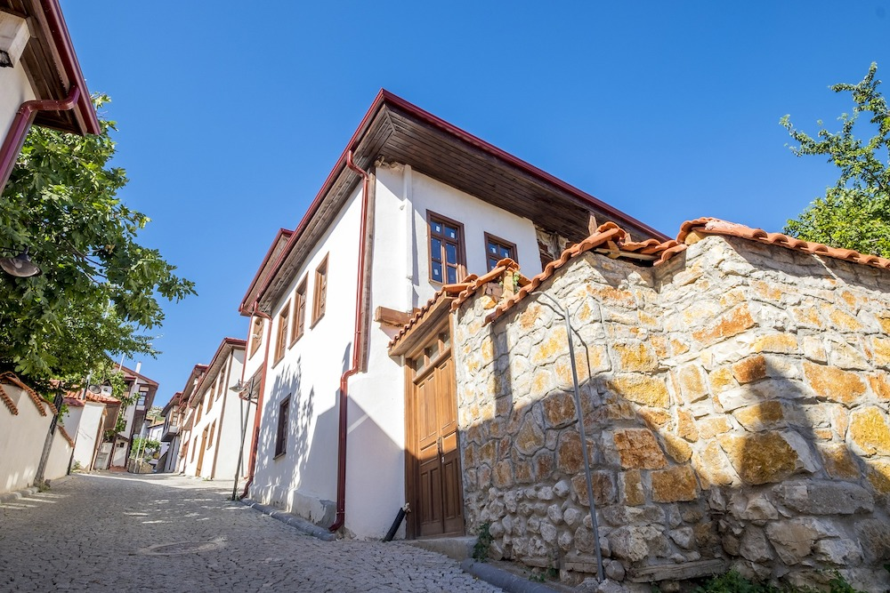 Case tradiționale în orașul vechi, Antalya