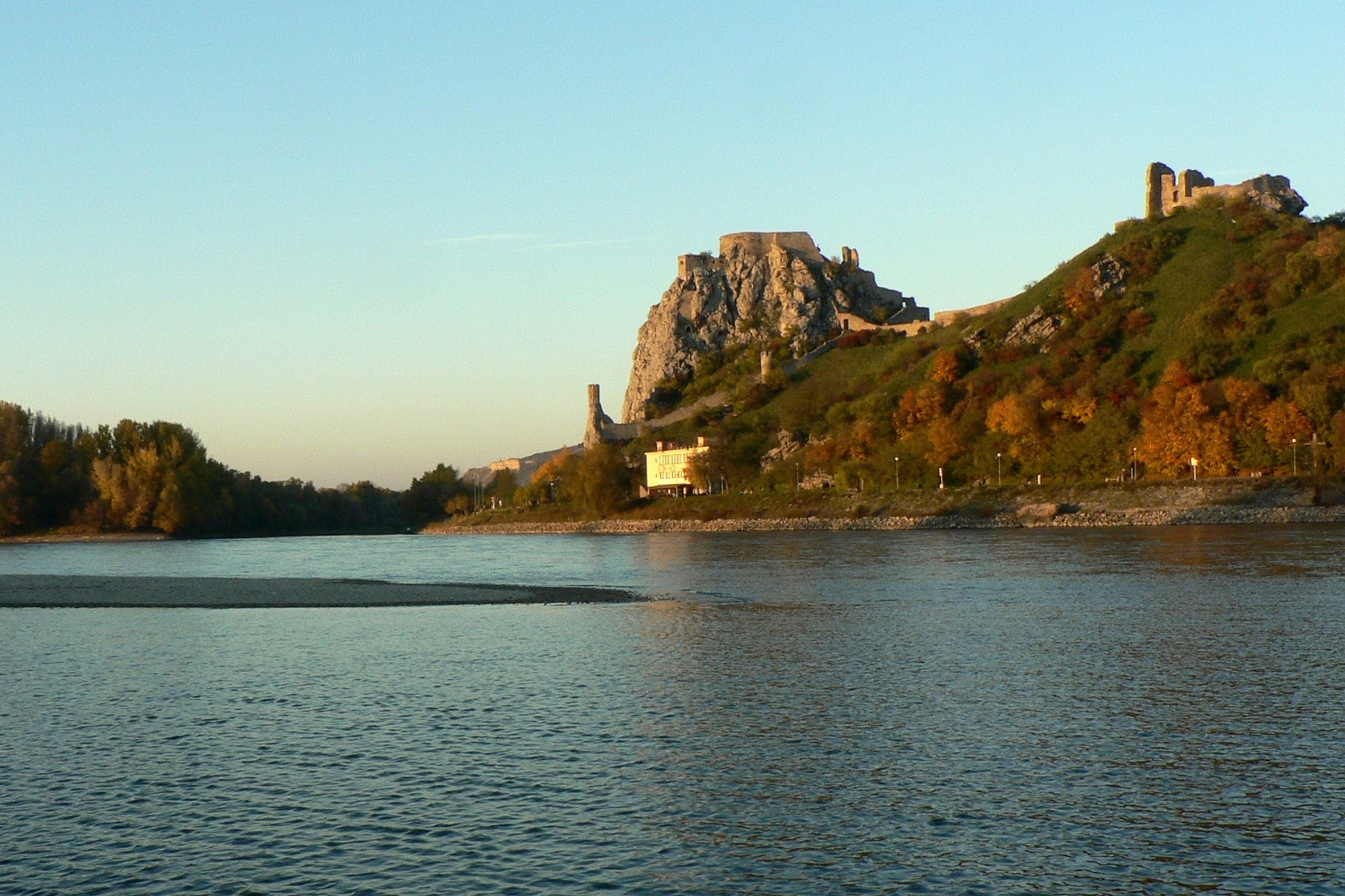 Devin Castle on the Danube, a great idea for day trips from Bratislava.