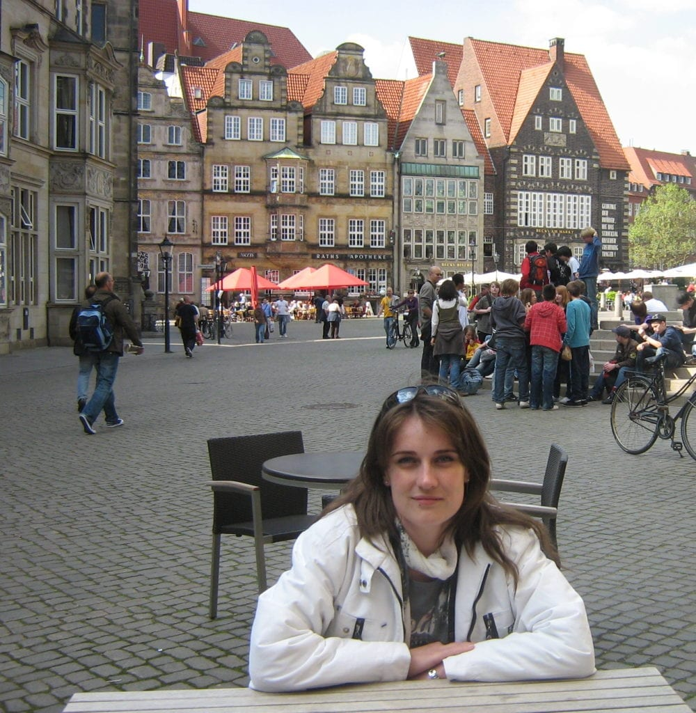 Anca, at Dream, Book, and Travel in Bremen, Germany