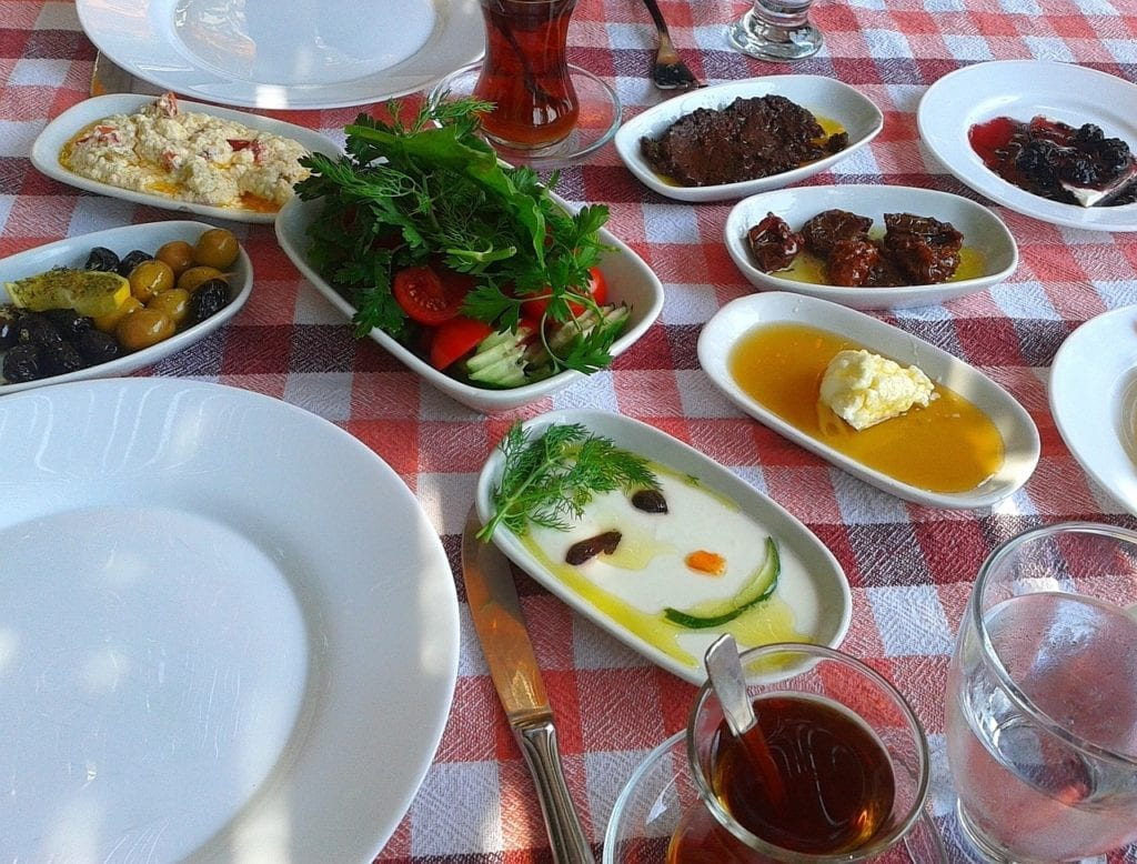 Turkish meze (starters) accompany every good dinner in Istanbul