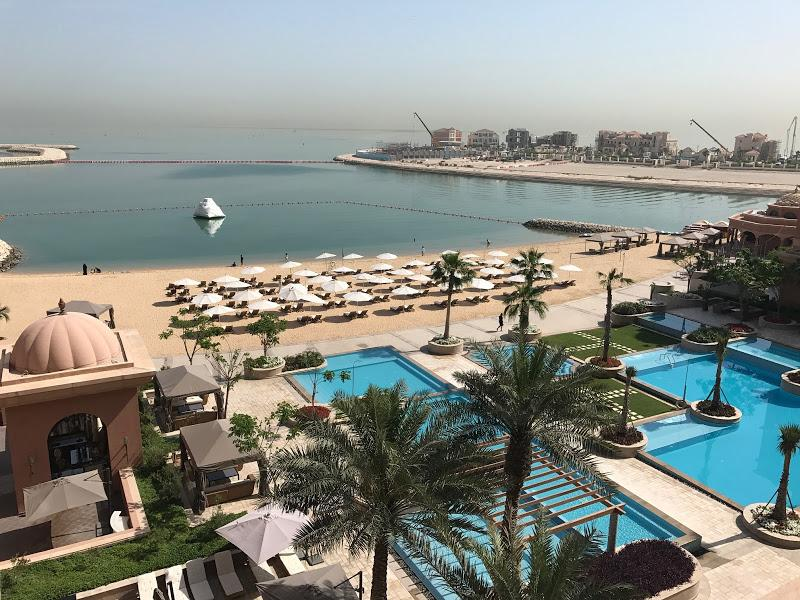 Doha with kids - seafront hotel