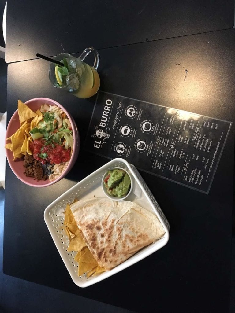 food at El Burro, where to stay in Vienna, Austria