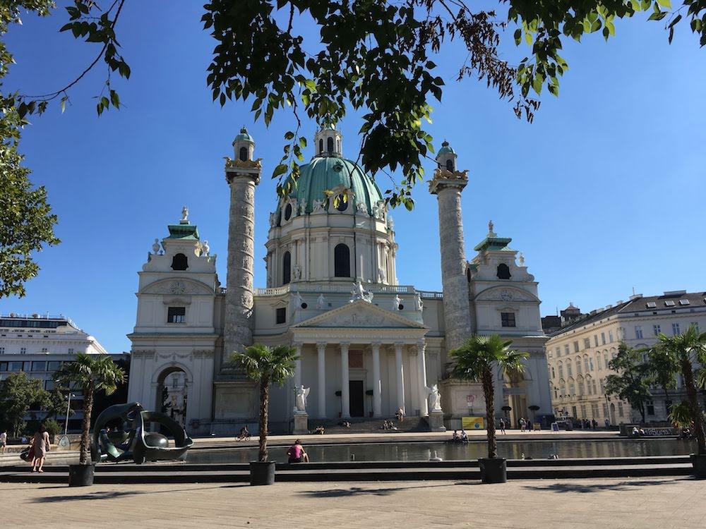 Karlskirche/ St Charles Church Vienna, Austria