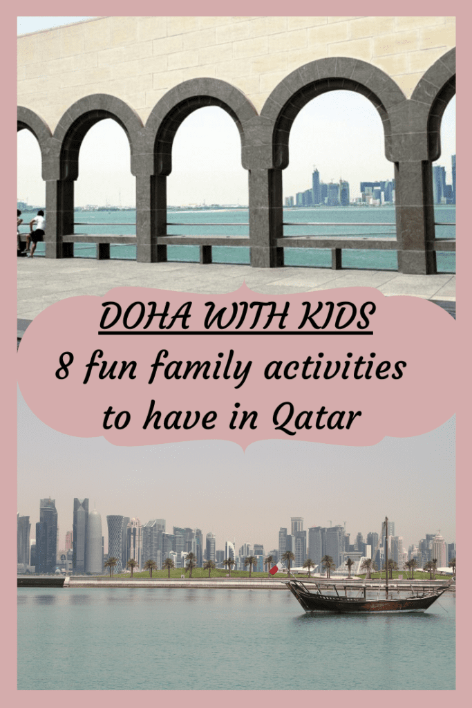 Doha with kids - like this article? PIN IT!