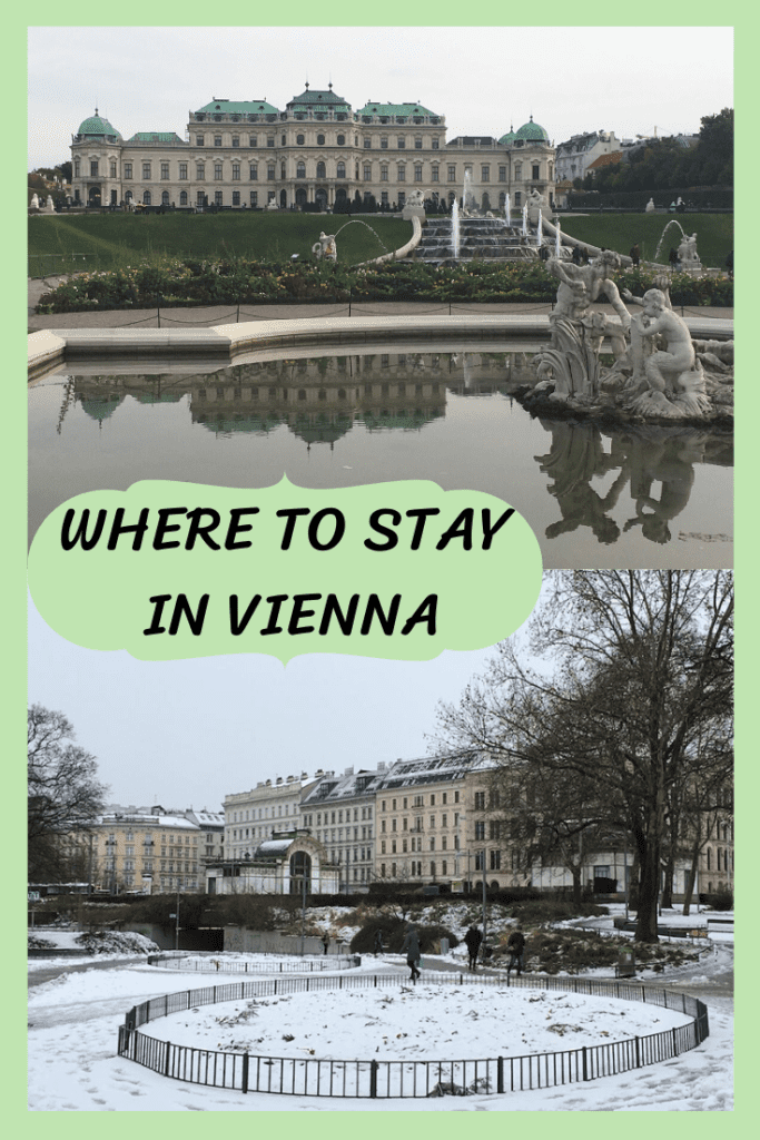 where to stay in Vienna, Austria, pin