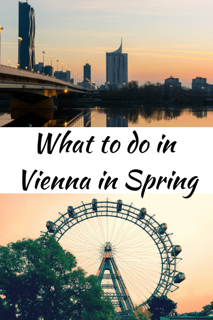 A local's complete guide to the best time to visit Vienna; #austria #spring
