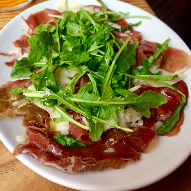 Where to eat in Seville - Bresaola from Bar Alfalfa - photo credit Alison in Andalucia