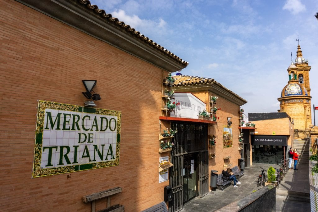 Where to eat in Seville - Mercado de Triana - photo credit The World Was Here First