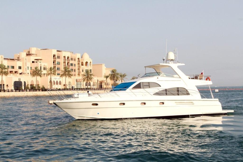 Qatar itinerary day 2 - visit the luxury Porto Arabia yacht harbor
