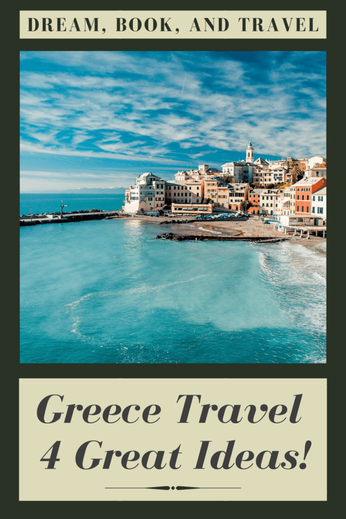 Where to go in Greece pin