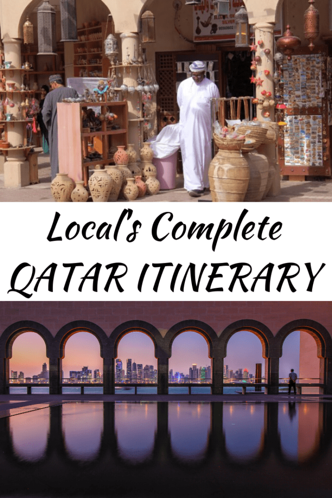 A local's complete 1-4 days Qatar itinerary, including recommendations for accommodation and restaurants, as well as tips and insights to enjoying your stay in Qatar!
