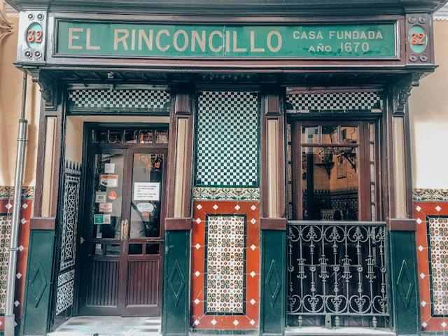 Where to eat in Seville - El Rinconcillo - tapas with a touch of history - photo credit To Some Place New