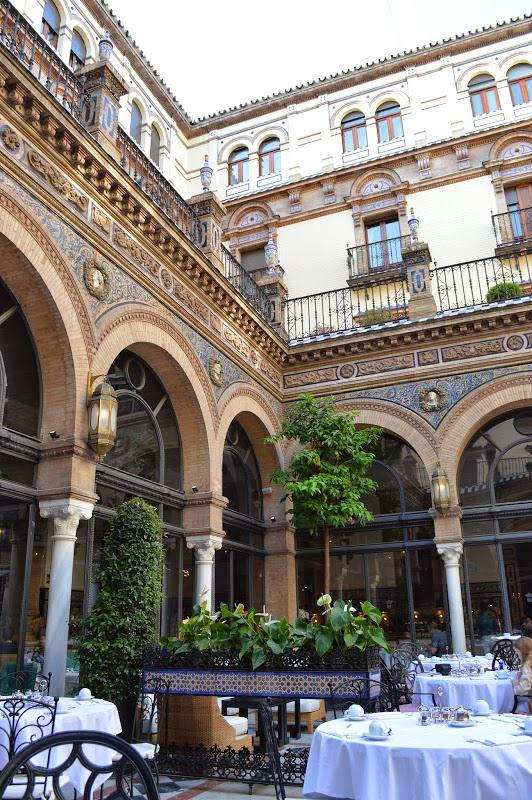 Where to eat in Seville - dinner at Restaurante San Fernando is a luxurious affair