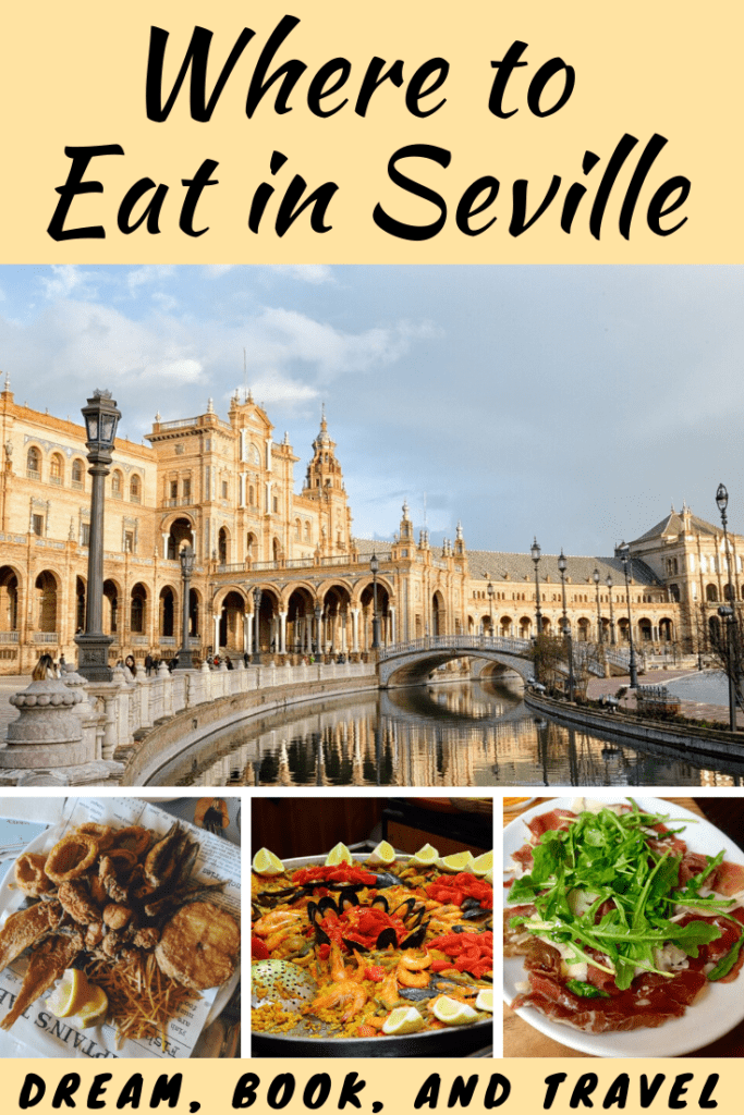 Where to eat in Seville pin