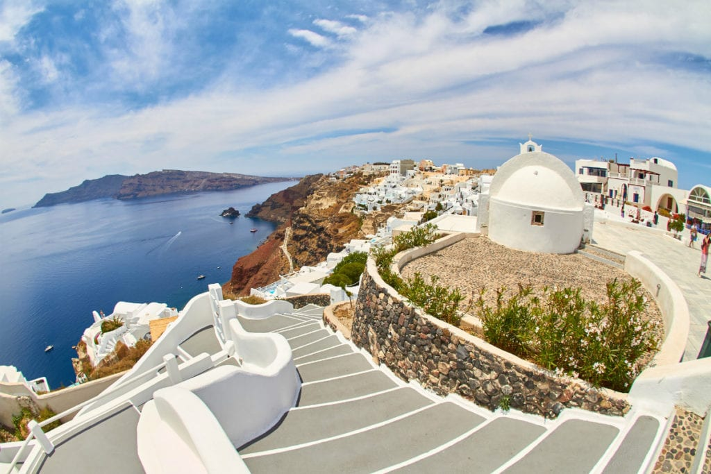 Best Greece destinations for families - Santorini Caldera