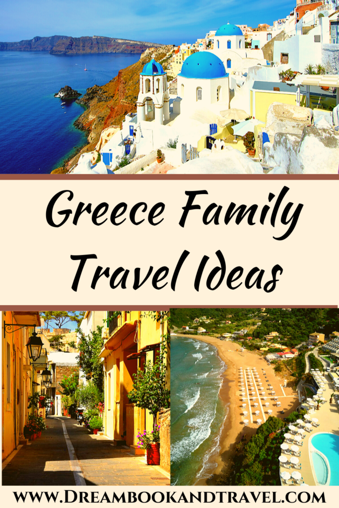 Greece destinations pin