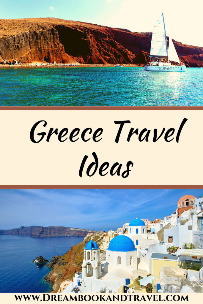 Greece destinations travel ideas pin