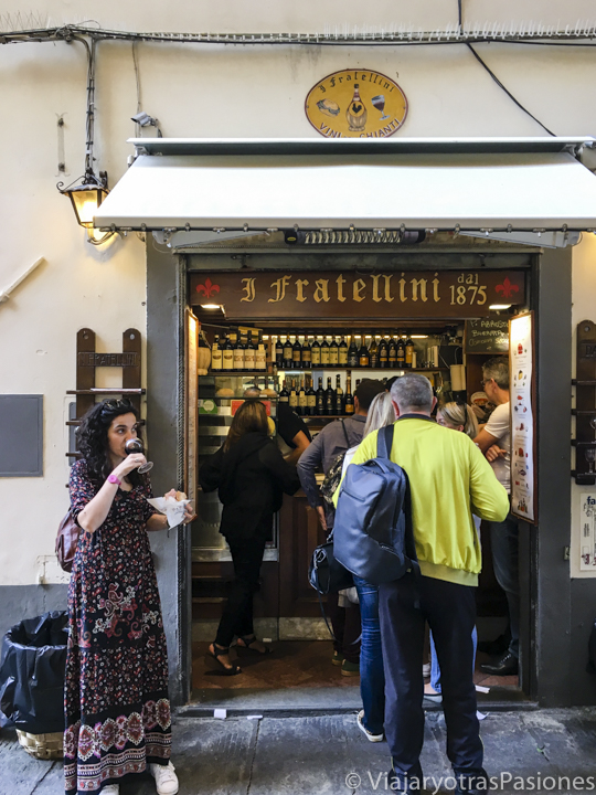 Where to eat in Florence - best Paninis at I Fratellini