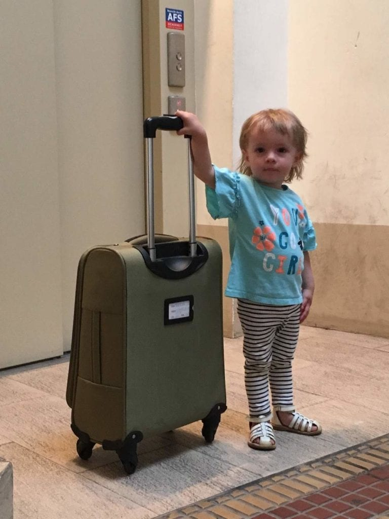 Family quality time - travel with a toddler