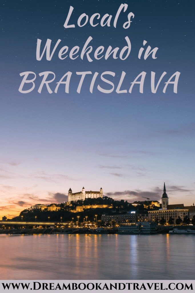 Weekend in Bratislava, Slovakia - PIN