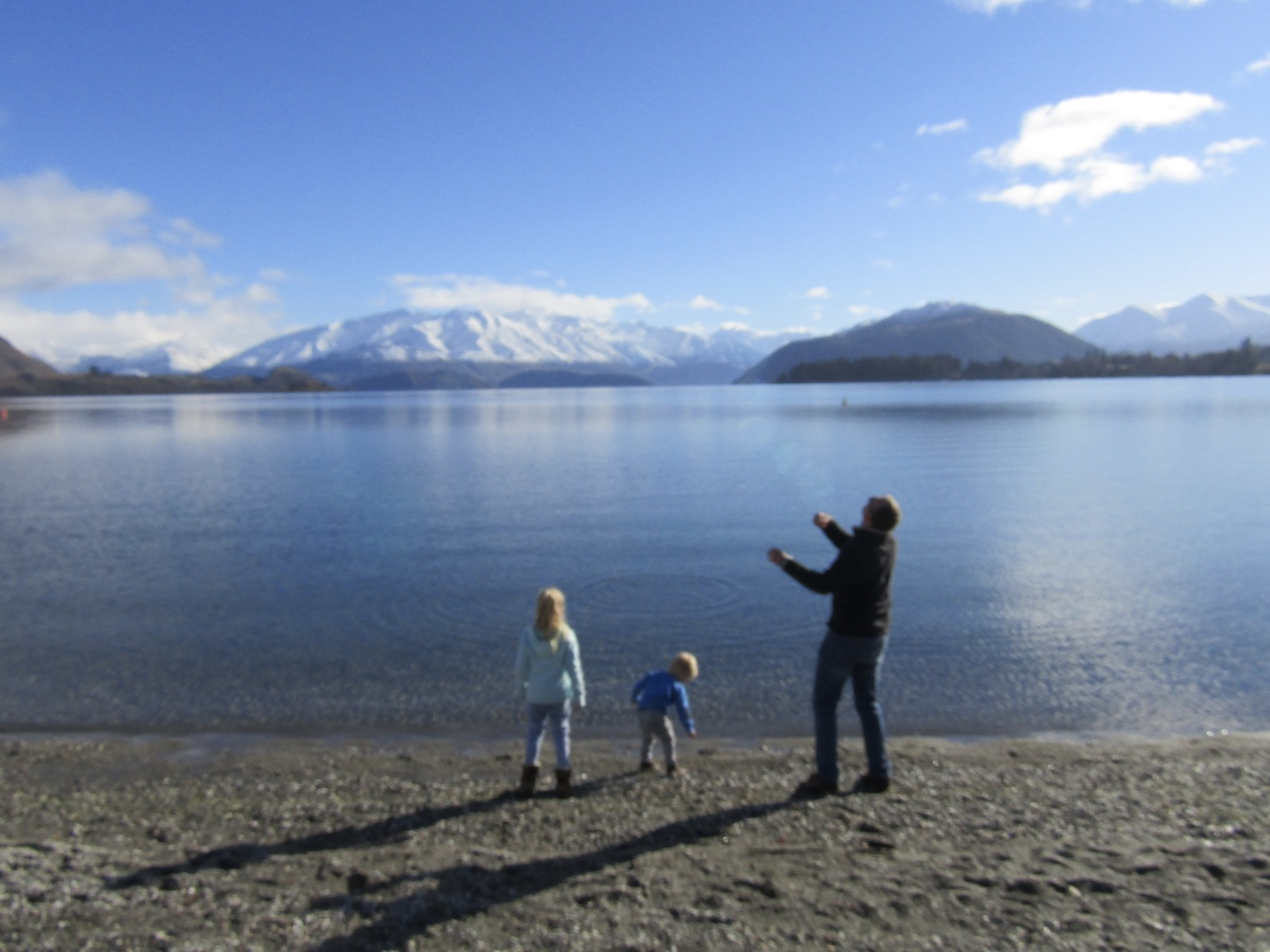 New Zeeland South Island itinerary with kids