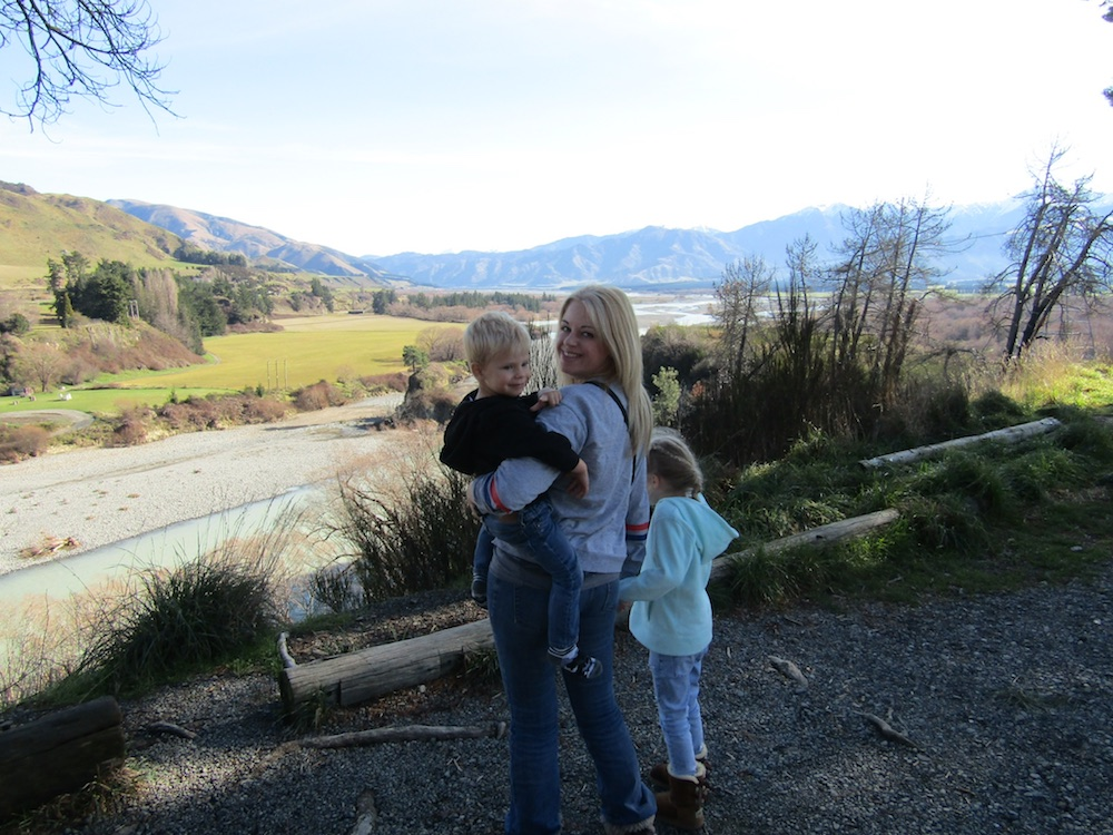 New Zeeland South Island itinerary with kids by Nancy from Around the Globe at the Weekend