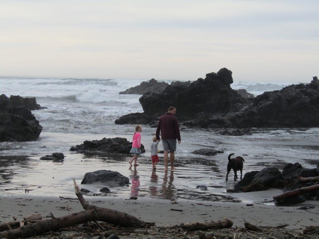 Sunmer Beach - family New Zeeland South Island itinerary