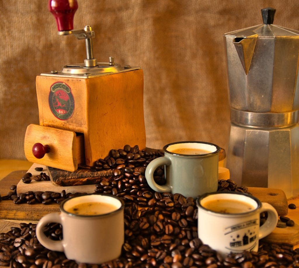 Books about coffee - the art of preparation