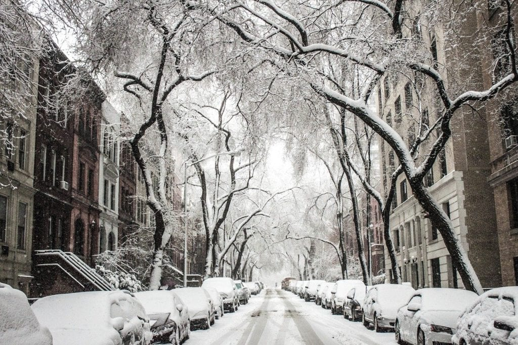 Romantic things to do in NYC - visit during winter - atmospheric, although cold