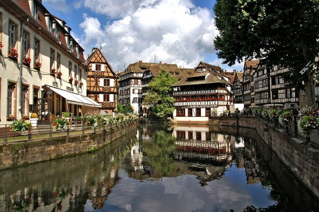 The Rhine by Ben Coates - Strasbourg