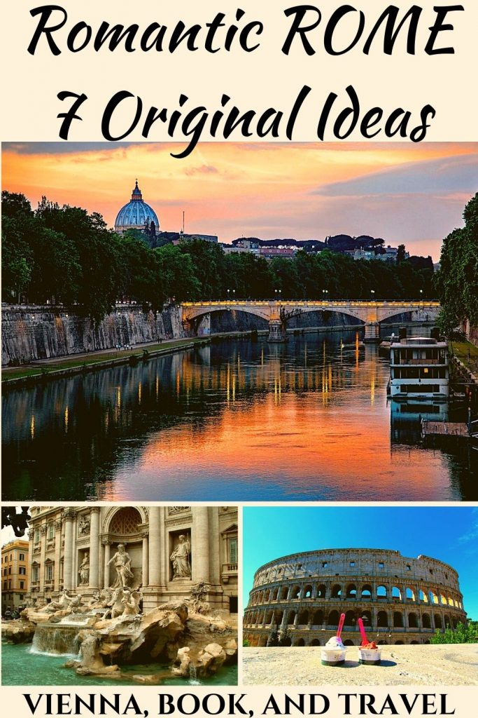 Romantic things to do in Rome PIN