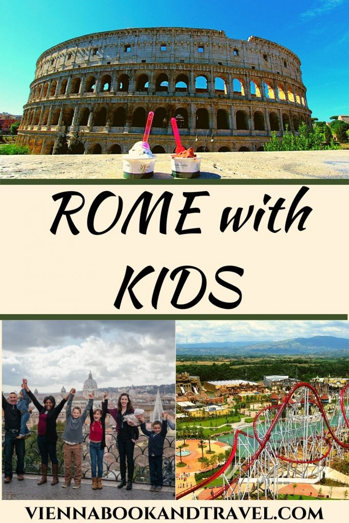 Activities in Rome with kids - pin