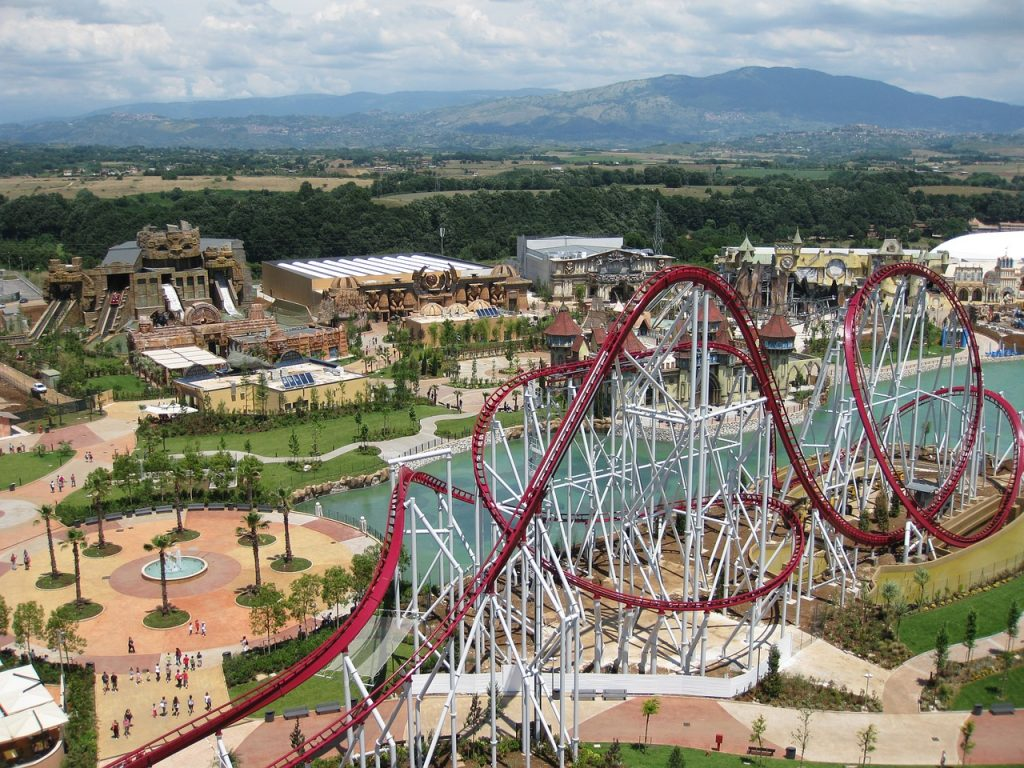 Activities in Rome with Kids - Rainbow Magicland