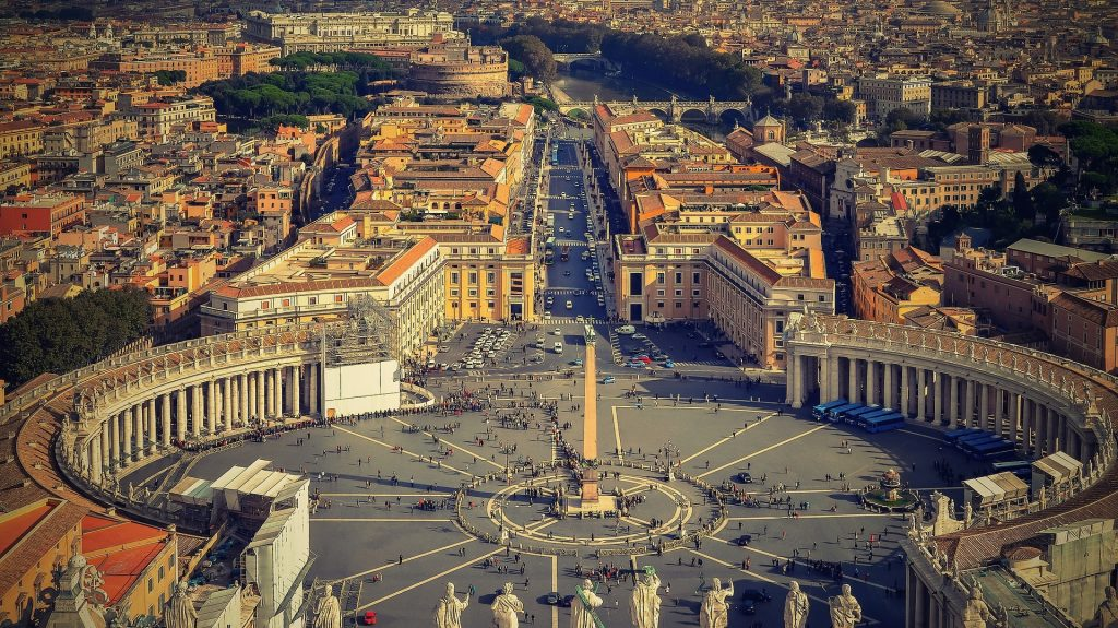 Rome with Kids - climb St Peter's Dome